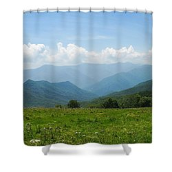 Great Smoky Mountains Shower Curtain by Melinda Fawver