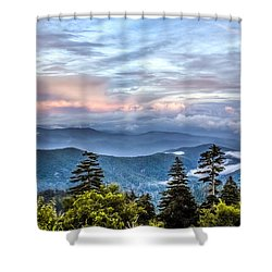 Shower Curtain featuring the photograph Great Smoky Mountains by Rob Sellers