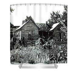 Greatgrandmother's House Shower Curtain