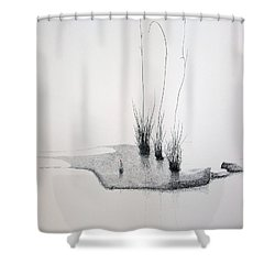 Greek Chorus Shower Curtain by A  Robert Malcom