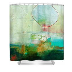 Green And Red 6 Shower Curtain by Jane Davies