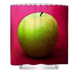Green Apple Whole 1 Shower Curtain by Alexander Senin