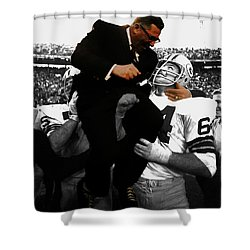 Vince Lombardi Green Bay Packers Shower Curtain