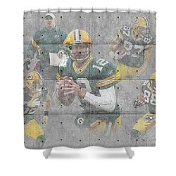 Green Bay Packers Team Shower Curtain