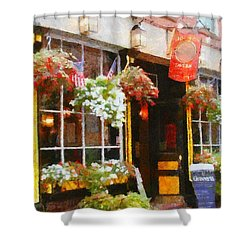 Green Dragon Tavern Shower Curtain