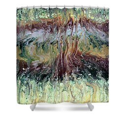 Green Grass And High Tides Shower Curtain