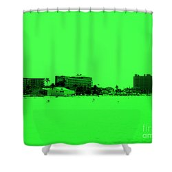 Green View. Special... Shower Curtain