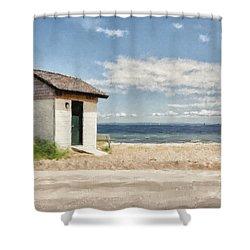 Greenwich Point Shower Curtain