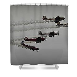 Greenwood Lake Airshow Northeast Raiders Shower Curtain