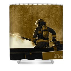 Greer Lodge  Shower Curtain