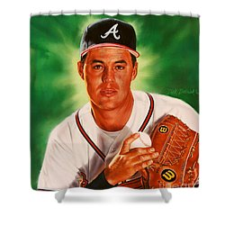 Greg Maddux Shower Curtain