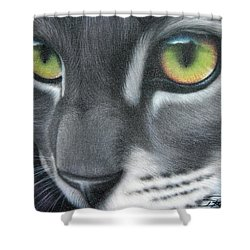 Grey Lady Shower Curtain