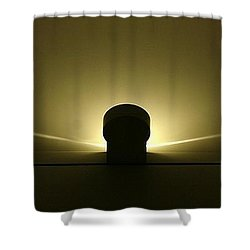 Shower Curtain featuring the photograph Self-hypnosis by John Glass