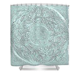 Grey Seal Shower Curtain by Oksana Semenchenko