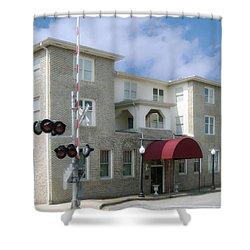 Greystone Of Paris Shower Curtain