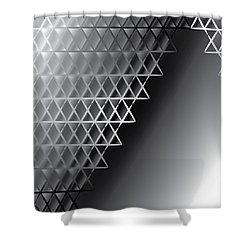 Grid 60 Float Shower Curtain