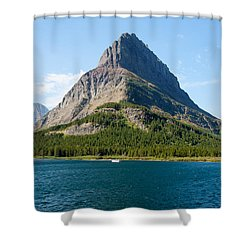Grinnell Point Shower Curtain by John M Bailey