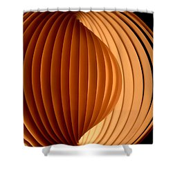 Groovy Abstract 5 Shower Curtain by Newel Hunter