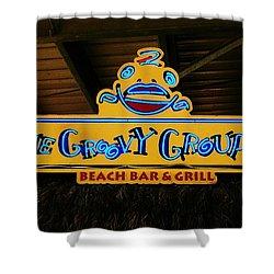 Groovy Shower Curtain by Randy Pollard
