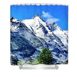 Grossglockner Shower Curtain by Andreas Thust