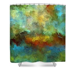 Grotto Shower Curtain