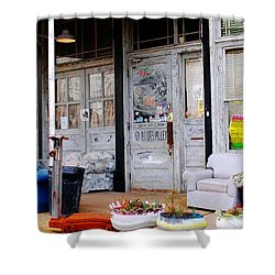 Ground Zero Clarksdale Mississippi Shower Curtain
