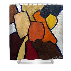 Group Hug Shower Curtain by Jim Whalen
