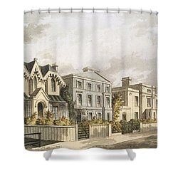 Group Of Villas In Herne Hill Shower Curtain by English School