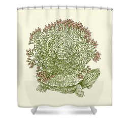Grow Shower Curtain by Eric Fan