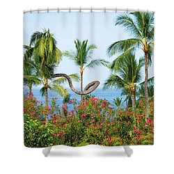 Grow Your Own Way Shower Curtain by Denise Bird