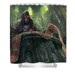 Grudge Keeper Shower Curtain