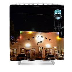 Gruene Hall Shower Curtain