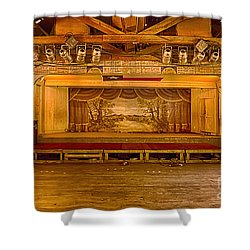 Gruene Hall Shower Curtain by Priscilla Burgers