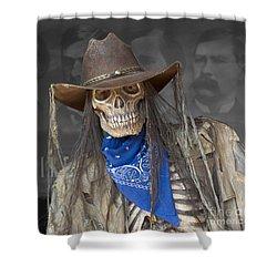 Gruesome Greg Shower Curtain