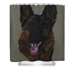 GSD Shower Curtain by Susan Herber
