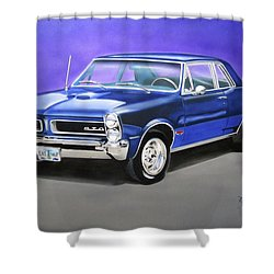 Gto 1965 Shower Curtain by Thomas J Herring
