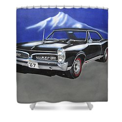 Gto 1967 Shower Curtain