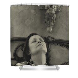 Guardian Angel Shower Curtain by Ron White