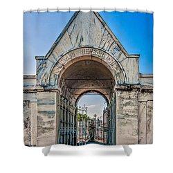 Guardian Angel Shower Curtain by Steve Harrington