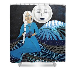 Guardian Of The Dream Time Shower Curtain