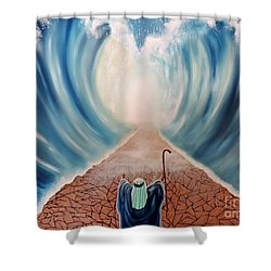 Guidance Shower Curtain by Dianna Lewis