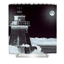 Guiding Lights Shower Curtain by Holly Kempe