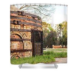 Guignard Brick Works-1 Shower Curtain