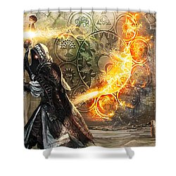 Guildscorn Ward Shower Curtain