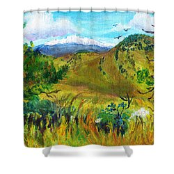Guilty Pleasures Shower Curtain by C Sitton