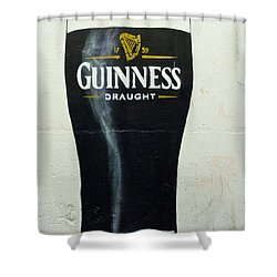 Guinness - The Perfect Pint Shower Curtain
