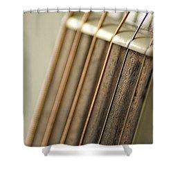 Guitar Shower Curtain by Daniel Precht