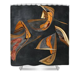 Guitar Music Shower Curtain