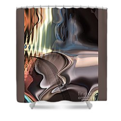 Guitar Sound Shower Curtain