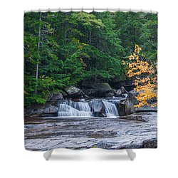 Gulf Hagas Brook Shower Curtain by Guy Whiteley